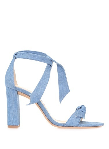 Alexandre Birman Sandalet Mavi